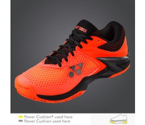 POWER CUSHION ECLIPSION2: ALL COURTS black / orange